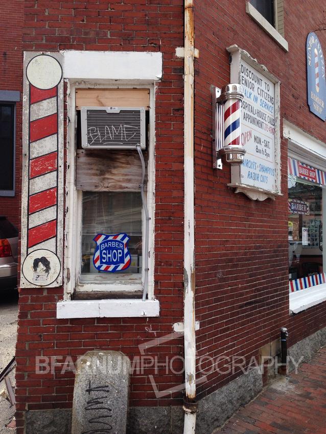 Barber Shop Blame
