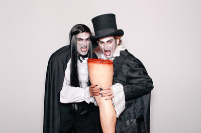 Vampires in Photo Booth